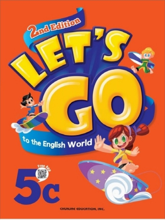 [무료배송]Let's go to the English World 5C