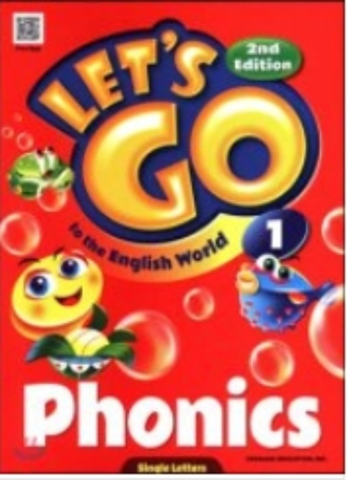 [무료배송]Let's go to the English World Phonics 1