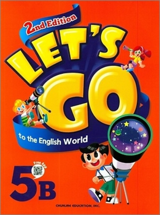[무료배송]Let's go to the English World 5B